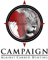 Logo Campaign Against Canned Hunting